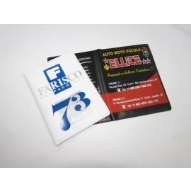 Carteirinhas Despachante em PVC Camurça